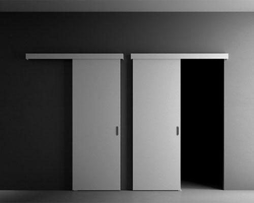 Межкомнатные перегородка с дверью 86